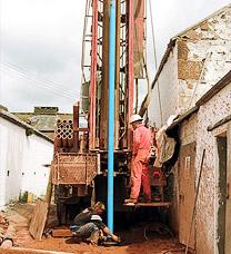 Servicii de forare geotermala