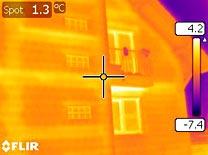 Expertiza termografica in exterior